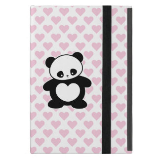 Kawaii panda case for iPad mini