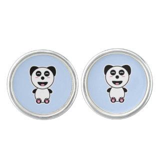 Kawaii Panda Cufflinks