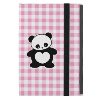 Kawaii panda iPad mini case