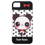 Kawaii Panda - Personalised iPhone 5 Cases
