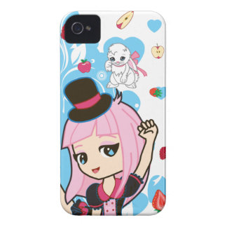 Kawaii Penelope the Gothic Lolita Chibi 9700/9780 iPhone 4 Cover