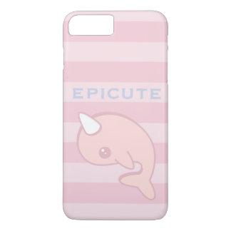Kawaii Pink Narwhal iPhone 8 Plus/7 Plus Case