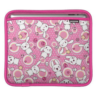 kawaii pink pattern sleeves for iPads