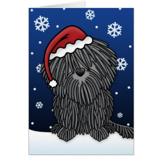 Kawaii Puli Christmas Card
