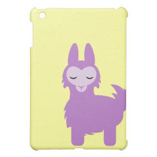 Kawaii Purple Llama Cover For The iPad Mini