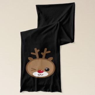 Kawaii Reindeer Scarf