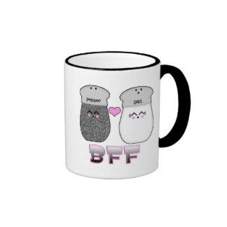 Kawaii Salt n Pepper BFF Ringer Mug