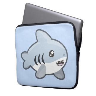 Kawaii Shark Computer Sleeves