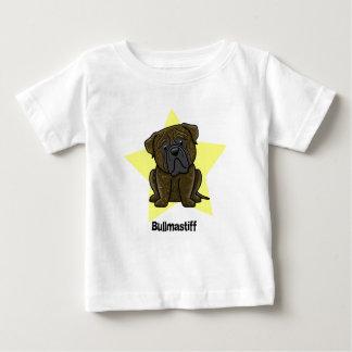 Kawaii Star Brindle Bullmastiff Baby T-Shirt
