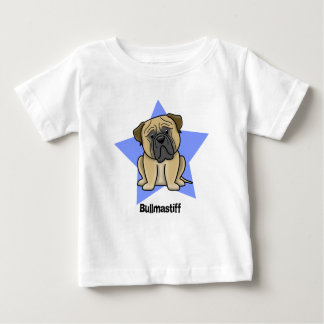 Kawaii Star Bullmastiff Baby T-Shirt