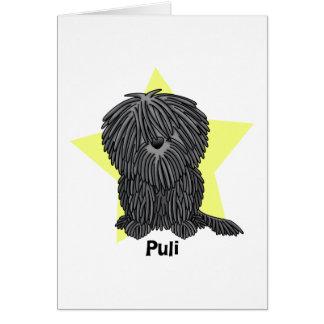 Kawaii Star Puli Card