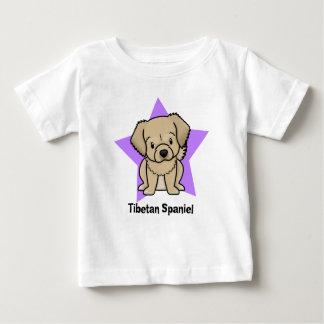 Kawaii Star Tibetan Spaniel Baby's Baby T-Shirt