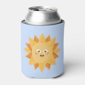Kawaii Sun Can Cooler