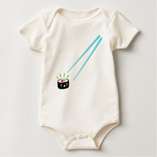 Kawaii sushi itadakimasu baby / infant bodysuit