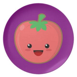 Kawaii Tomato Plate