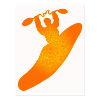 kayak orange crush postcards