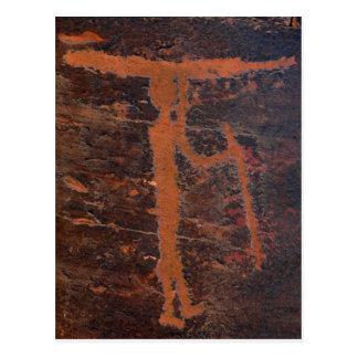 Kayak Petroglyph Postcard