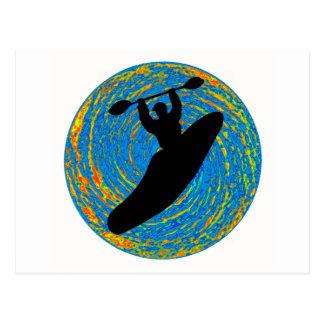 Kayak the Exploration Postcard