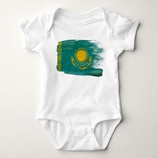 Kazakhstan Flag Baby Bodysuit