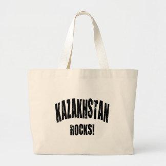 Kazakhstan Rocks! Canvas Bags
