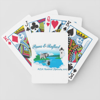 KCA National logo Bicycle Playing Cards