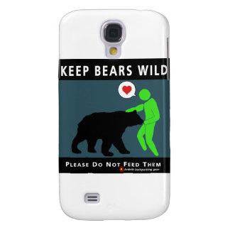 Keep Bears Wild Galaxy S4 Case