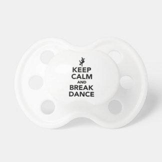 Keep calm and Breakdance Dummy