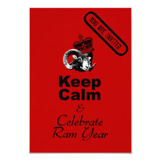 Keep Calm and Celebrate Chinese New Year 2015 Card