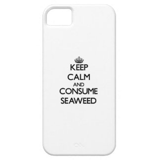Keep calm and consume Seaweed iPhone 5 Cases