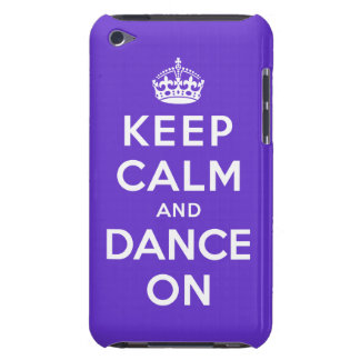 Keep Calm and Dance On iPod Touch Covers