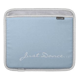 Keep Calm and Dance On Light Blue iPad Sleeve