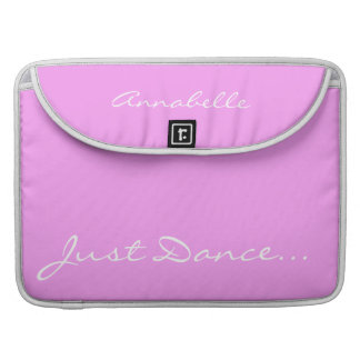 Keep Calm and Dance On Pink Sleeve For MacBooks