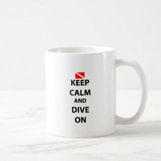 Keep Calm and Dive On Mug