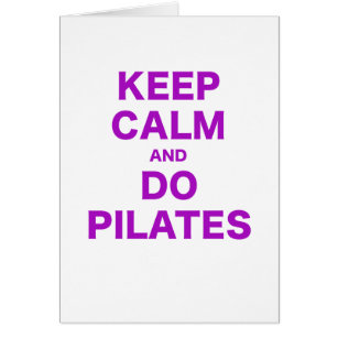 "/""Keep Calm and Do Pilates/"" Keyring Bottle Opener"