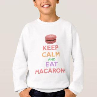 Keep Calm And Eat Macarons Sweatshirt