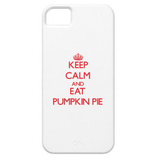 Keep calm and eat Pumpkin Pie iPhone 5 Case