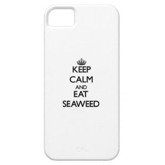 Keep calm and eat Seaweed iPhone 5 Cases