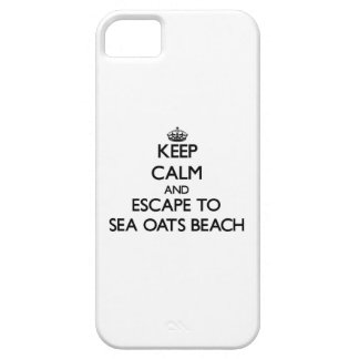 Keep calm and escape to Sea Oats Beach Florida iPhone 5 Covers