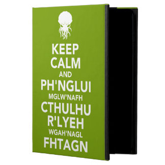 Keep Calm and Fhtagn Case For iPad Air