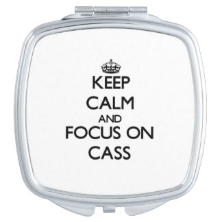 Keep Calm and focus on Cass Travel Mirrors