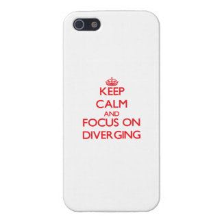 Keep Calm and focus on Diverging Covers For iPhone 5