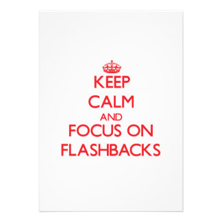 Keep Calm and focus on Flashbacks Announcement