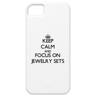 Keep Calm and focus on Jewelry Sets iPhone 5 Covers