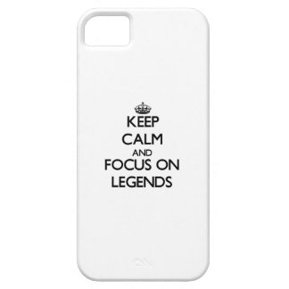 Keep Calm and focus on Legends iPhone 5 Cover
