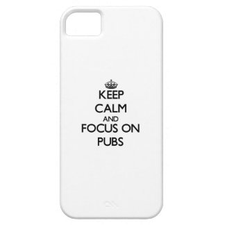 Keep Calm and focus on Pubs iPhone 5 Covers