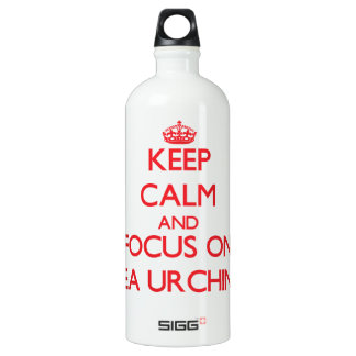 Keep calm and focus on Sea Urchins SIGG Traveller 1.0L Water Bottle