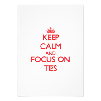 Keep Calm and focus on Tips Invite