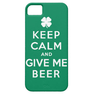 Keep Calm and Give Me Beer iPhone 5 Cover