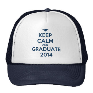 Keep Calm and Graduate 2014 Cap