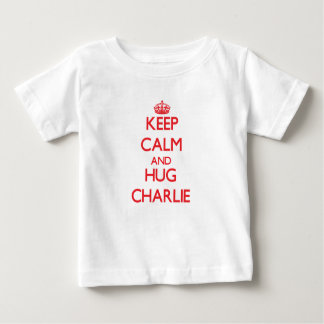 Keep Calm and HUG Charlie Baby T-Shirt